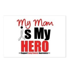 Lung Cancer Hero (Mom) Postcards (Package of 8)