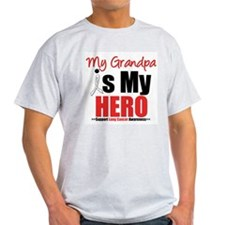 Lung Cancer Hero (Grandpa) T-Shirt
