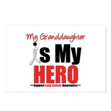 Lung Cancer Hero (Granddaughter) Postcards (Packag