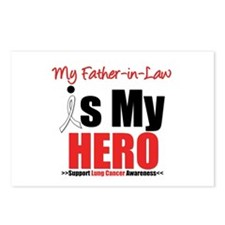 Lung Cancer Hero (FIL) Postcards (Package of 8)