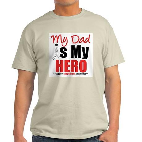 Lung Cancer Hero (Dad) Light T-Shirt