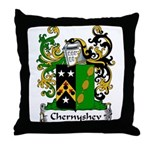 Chernyshev Family Crest Throw Pillow