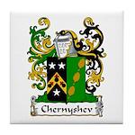 Chernyshev Family Crest Tile Coaster