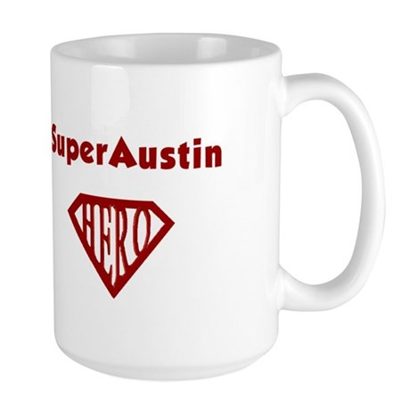 Super Hero Austin Large Mug