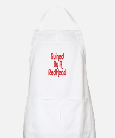 Ruined By RedHead BBQ Apron