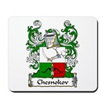 Chesnokov Family Crest Mousepad