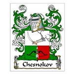 Chesnokov Family Crest Small Poster