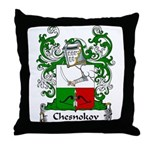 Chesnokov Family Crest Throw Pillow