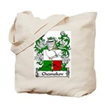 Chesnokov Family Crest Tote Bag