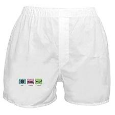Eat. Sleep. Bead. Boxer Shorts