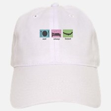 Eat. Sleep. Bead. Baseball Baseball Cap