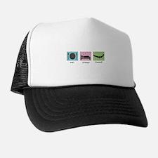 Eat. Sleep. Bead. Trucker Hat