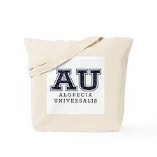 AU Alopecia Universalis Blue Tote Bag