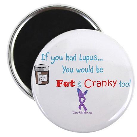 "Fat & Cranky 2.25"" Magnet (100 pack)"