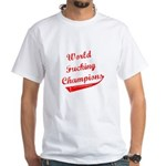 World Fucking Champions, Red White T-Shirt