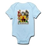 Dembinsky Family Crest Infant Creeper