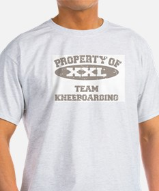 KneeBoarding Ash Grey T-Shirt