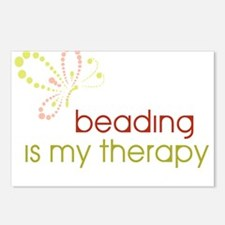 Beading is my Therapy Postcards (Package of 8)