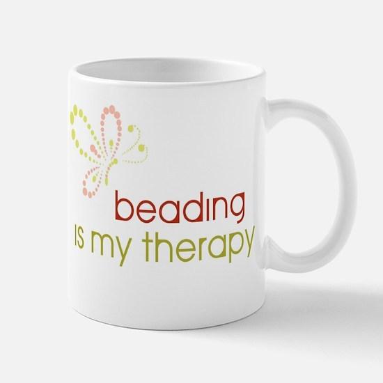 Beading is my Therapy Mug