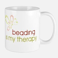 Beading is my Therapy Small Small Mug