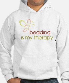 Beading is my Therapy Hoodie