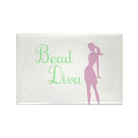 Bead Diva Rectangle Magnet (10 pack)