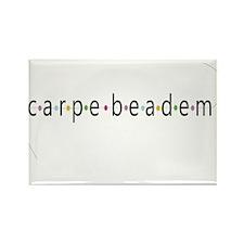 Carpe Beadem Rectangle Magnet