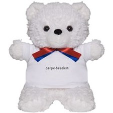 Carpe Beadem Teddy Bear