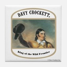 Davy Crockett Tile Coaster