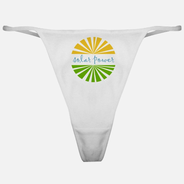 Solar Power Classic Thong