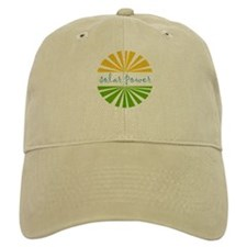 Solar Power Baseball Cap