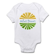 Solar Power Infant Bodysuit