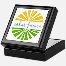Solar Power Keepsake Box