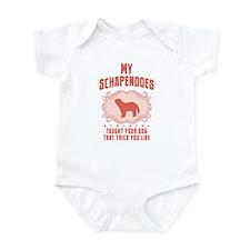Schapendoes Infant Bodysuit