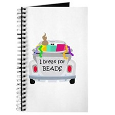 I brake for beads Journal