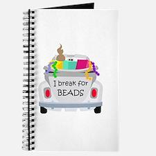 I brake for beads Journal
