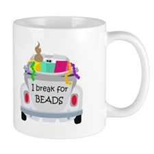 I brake for beads Mug