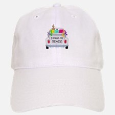 I brake for beads Baseball Baseball Cap