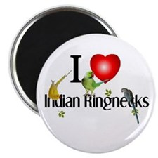 Indian Ringnecks Magnet