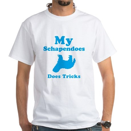 Schapendoes White T-Shirt