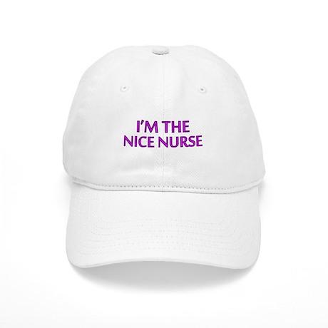 Pink Nice Nurse Cap