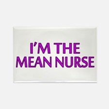 I'm The Mean Nurse Rectangle Magnet (100 pack)