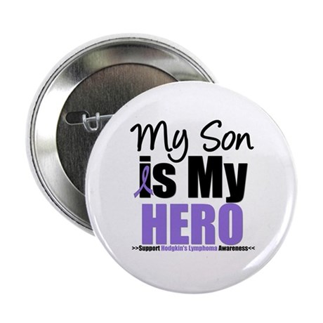 """My Son is My Hero (HL) 2.25"""" Button (10 pack)"""