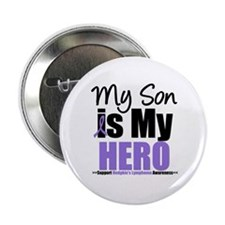"My Son is My Hero (HL) 2.25"" Button"