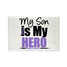 My Son is My Hero (HL) Rectangle Magnet