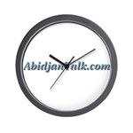 AbidjanTalk Wall Clock