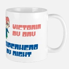 Victoria- SuperHero By Night Mug