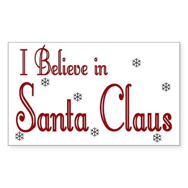 I believe in santa claus essay