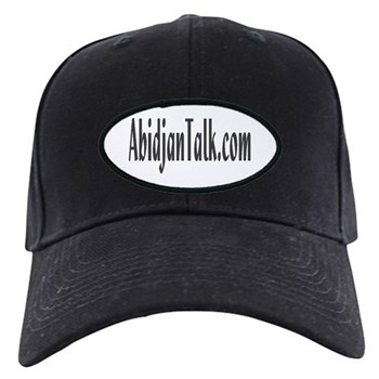 AbidjanTalk Black Cap
