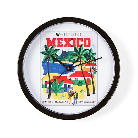 Mexico West Coast Wall Clock